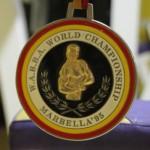 Medalla campeonato del mundo